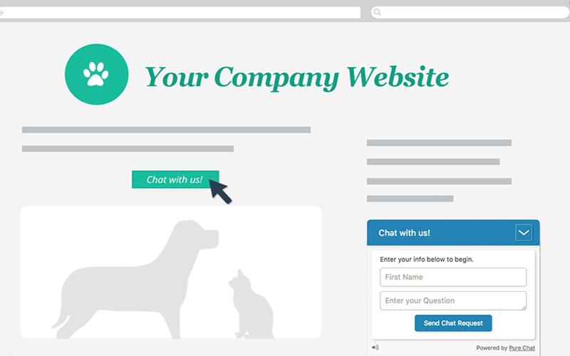 tư vấn thiết kế web có tính năng live chat